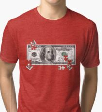currency of the USA Tri-blend T-Shirt