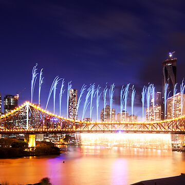 The Iconic Riverfire Falls by dadegroot