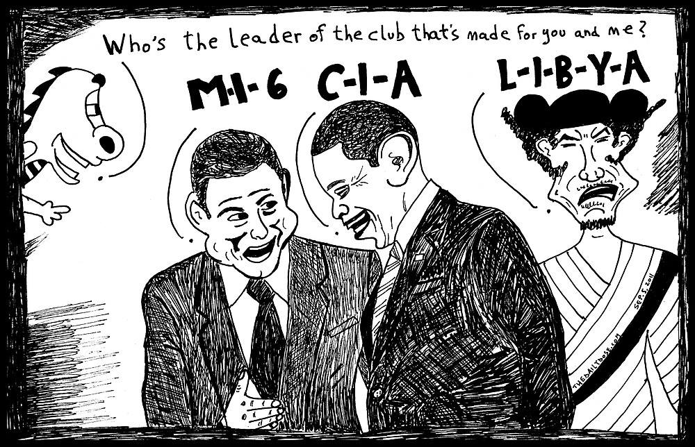MI6 CIA LIBYA by bubbleicious