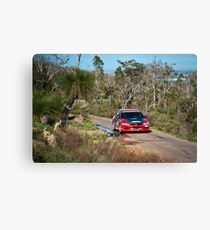 Targa West 2011 - Car 96 - Photo 1 Canvas Print