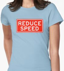Reduce Speed Women's Fitted T-Shirt