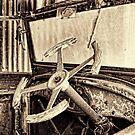 VINTAGE STEERING WHEEL by Helen Akerstrom Photography
