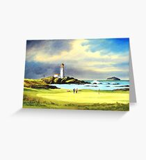 Turnberry Golf Course Scotland Greeting Card