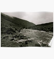 Downstream To Mosedale Poster