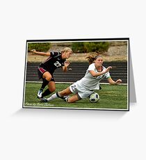 UIndy vs Old Dominican Womens Soccer 5 Greeting Card