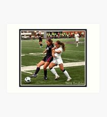UIndy vs Old Dominican Womens Soccer 8 Art Print