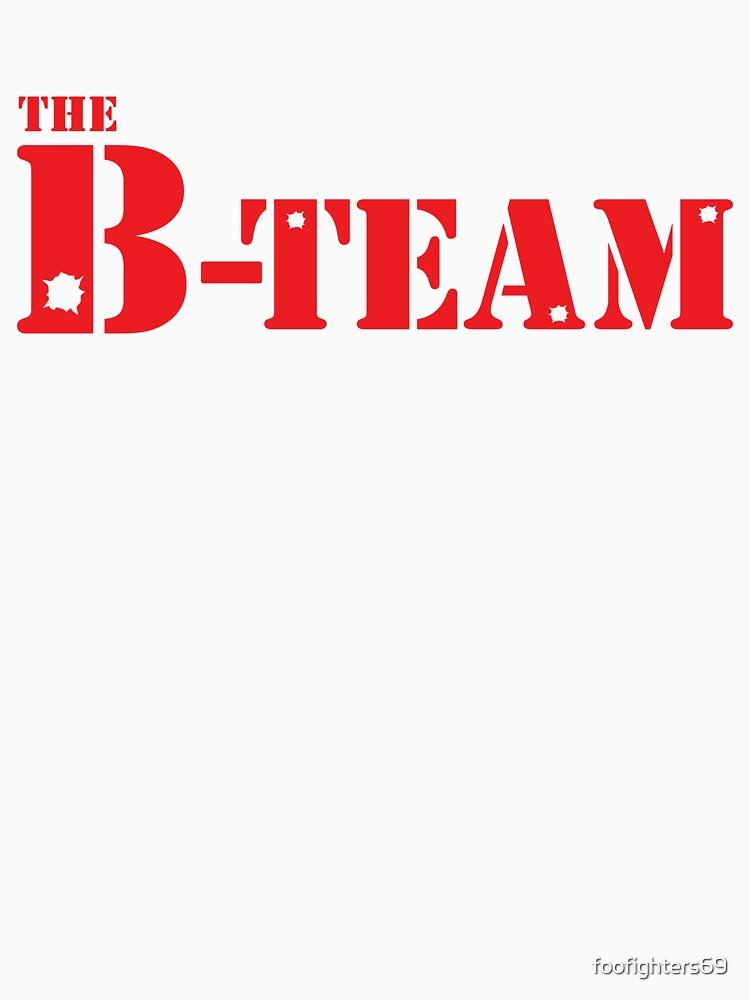 El equipo B de foofighters69