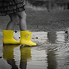 My Yellow Gumboots by BruceMacArthur