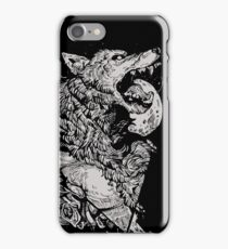 Werewolf Therewolf iPhone Case/Skin