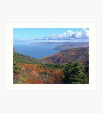 Cape Breton Island, McKenzie Mountain Art Print