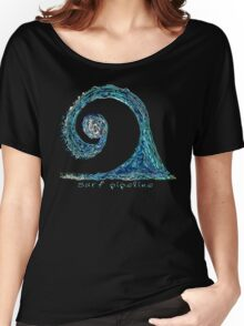 Surf Pipeline I Women's Relaxed Fit T-Shirt
