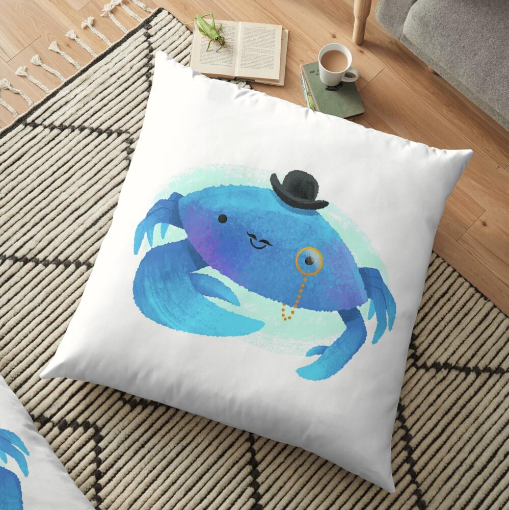 Gentleman Crab Floor Pillow