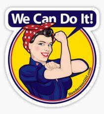 We Can Do It Sticker Sticker