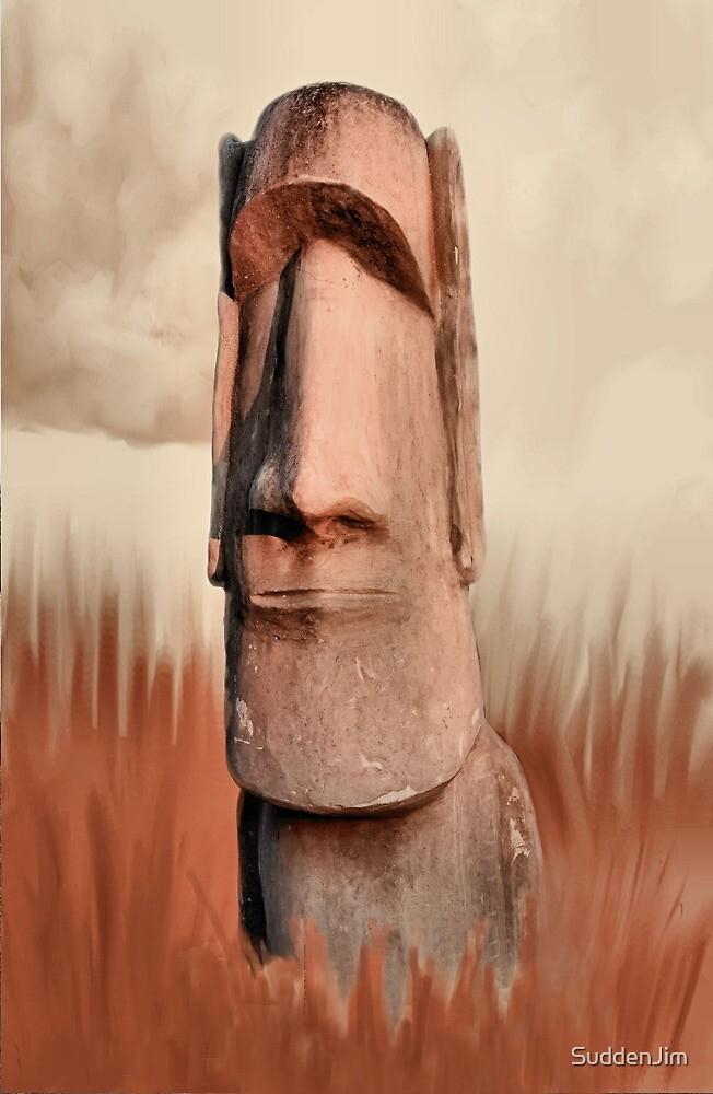 Moai by SuddenJim