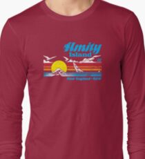 Amity Island Long Sleeve T-Shirt