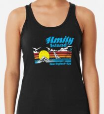 Amity Island Racerback Tank Top