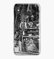 cluttered garage  iPhone Case