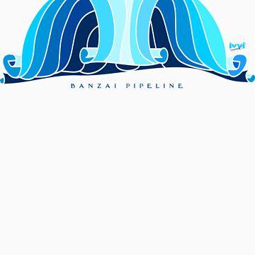 banzai pipeline by ronyjackson