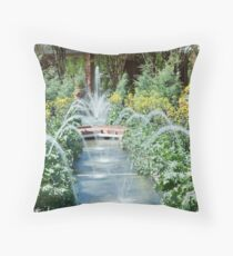 Riverbanks Botanical Garden Throw Pillow