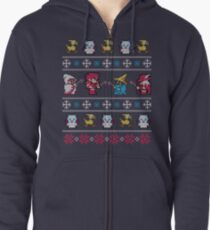 Winter Fantasy Zipped Hoodie