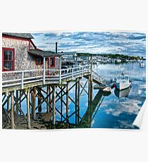 Boothbay Harbor Poster