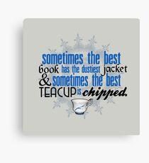 The best teacup. Canvas Print