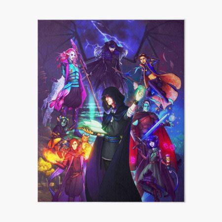 Critical Role: How do you want to do this? Art Board Print