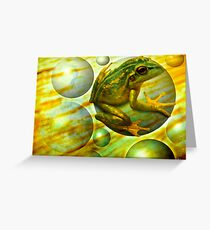 Effervescent Stream Greeting Card
