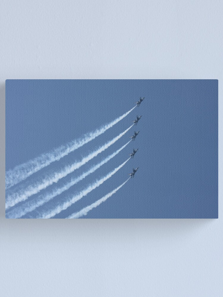 Alternate view of USAF Thunderbirds Canvas Print
