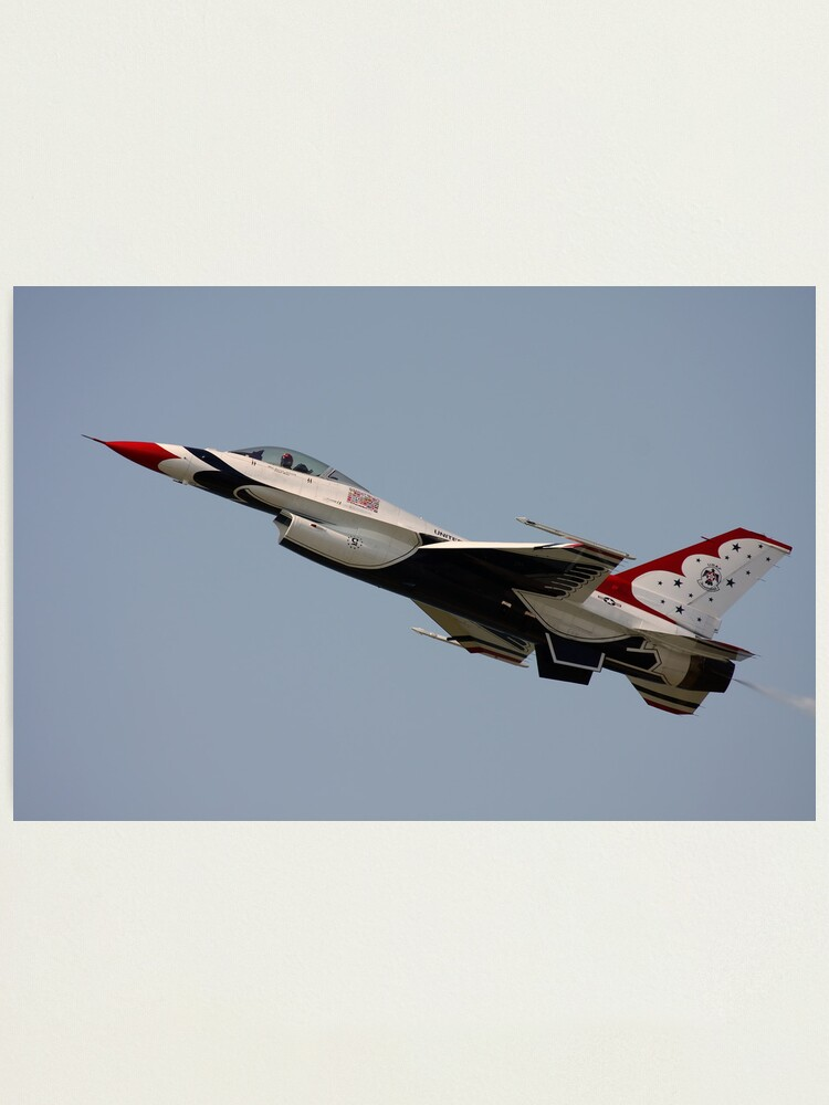 Alternate view of USAF Thunderbirds Photographic Print