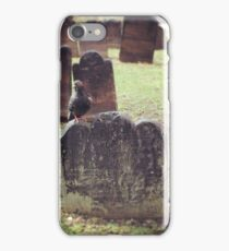 Pigeon on Gravestone, Trinity Church iPhone Case/Skin