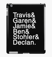 Chemistryverse Character Name List iPad Case/Skin