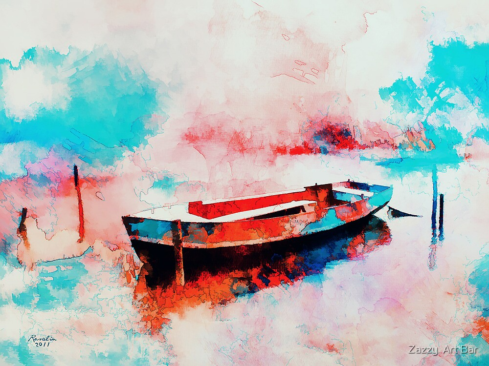 Morning Boat  by rosalin