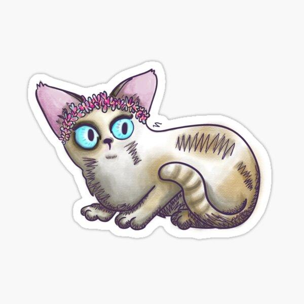 s-kitty Sticker