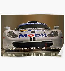 Porsche 911 GT1 Evo - Porsche Museum Poster