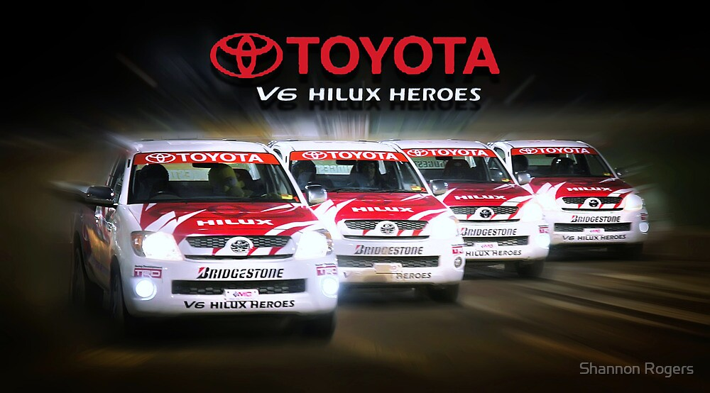 Toyota Hilux Heros by Shannon Rogers
