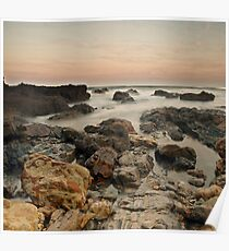 Wallabi Beach Poster