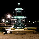 Fountain By Night by bazcelt