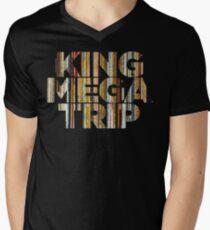 King Megatrip Neo Logo - Vinyl Men's V-Neck T-Shirt
