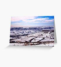 Farndale in Winter Greeting Card