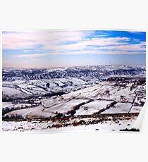 Farndale in Winter Poster