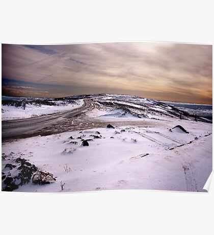Winter on the Moors Poster