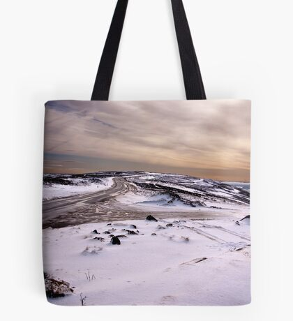 Winter on the Moors Tote Bag