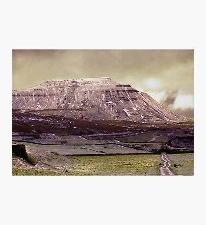 Ingleborough in the Yorks Dales Photographic Print