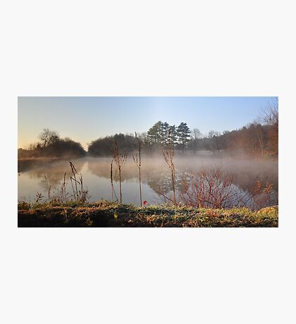 Through the Morning Mist  Photographic Print