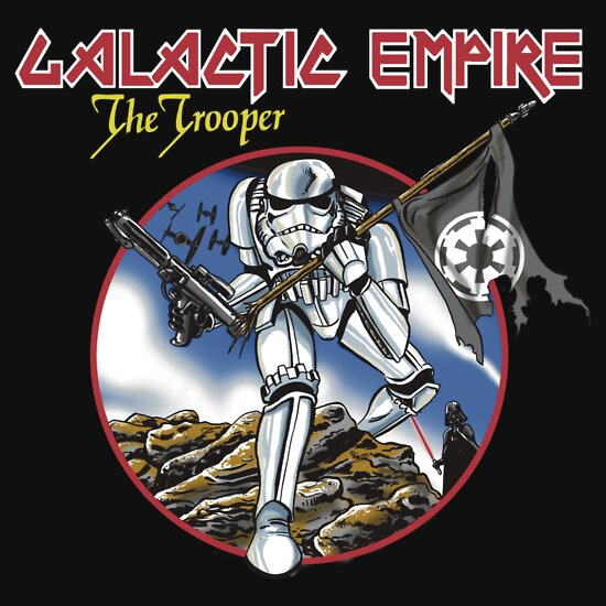 TShirtGifter presents: The Trooper T-Shirt