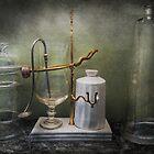 Pharmacy - Victorian Apparatus  by Michael Savad