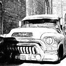 GMC Panel Truck von pixelcafe