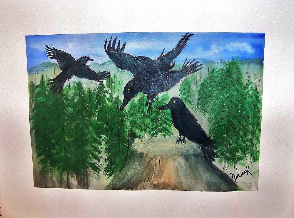Magpies by Thomas J Norbeck