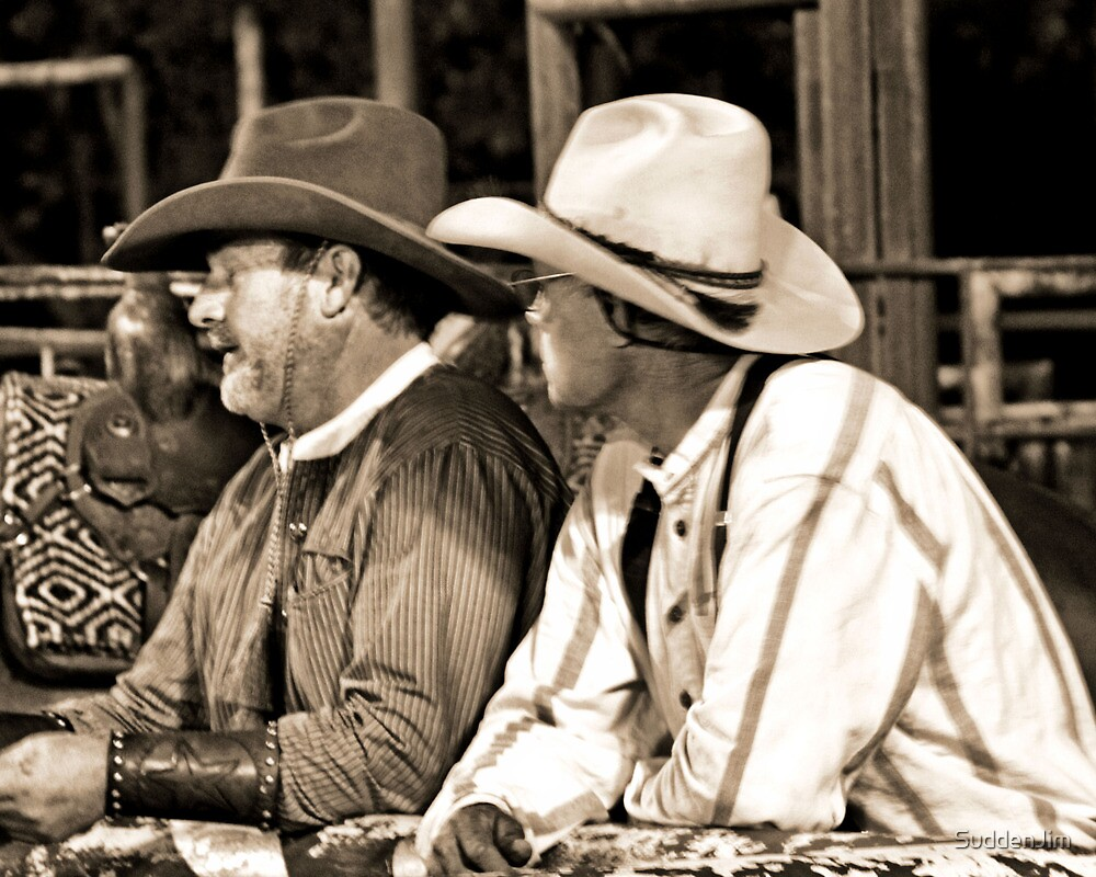 Jaw Jackin' Cowboys by SuddenJim